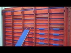 ▶ Wall Bar Demonstration.  I want this in my garage!!!!!