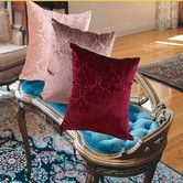 Found it at Wayfair - Vintage Damask Decorative Throw Pillow
