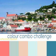happy summer color palette