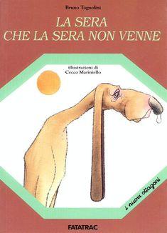 """La sera che la sera non venne (Bruno Tognolini)  """"La voce umana fa crescere i bambini,  li guarisce dai malanni più diversi,  restituisce i loro anni a chi li ha persi.    Questo libro è dedicato a quegli adulti   che leggono libri ai bambini   a voce alta"""""""