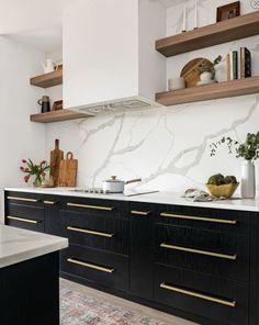Home Decor Kitchen, New Kitchen, Home Kitchens, Decorating Kitchen, Kitchen Taps, Island Kitchen, Black Kitchens, Country Kitchen, Kitchen Dining