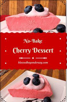 No-Bake Cherry Dessert -