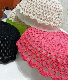 Canto do Pano Artesanato: Cestinha de crochê endurecido com receita e gráfic... Crochet Keychain Pattern, Free Crochet Doily Patterns, Crochet Basket Pattern, Crochet Diagram, Crochet Doilies, Crochet Flowers, Crochet Stitches, Crochet Cake, Crochet Bouquet