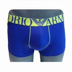 #Boxers Microfibra Royal Blue, Emporio Armani .Nuevo boxer con una microfibra aún más suave y sedosa, para un ajuste perfecto. #calzonzillos #RopaInteriorMasculina www.varelaintimo.com