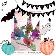 Petites sorcières à colorier