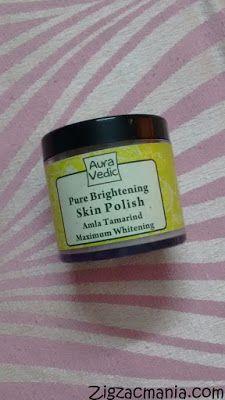 Zig Zac Mania: Aura Vedic Pure Brightening Amla Tamarind Skin Pol...