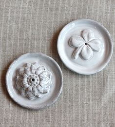 I like the vertical Incense holders. The cute shamrock is perfect since I am Irish. Astier de Villatte Incense Holders