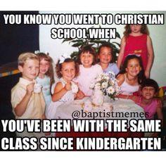 #ChristianSchool -@gmx0 #BaptistMemes
