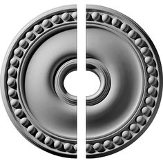 """19 1/8""""OD x 3 1/2""""ID x 1""""P Foster Ceiling Medallion, Two Piece (Fits Canopies up to 5 5/8"""")"""