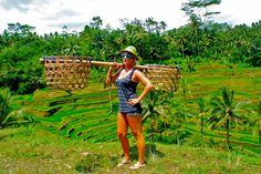 me in the rice paddies of bali