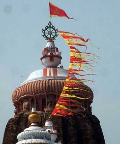Nila Chakra: The metal wheel at the top of Lord Jagannath temple is known as Neela Chakra. The wheel is made of 8 metals comprising of iron, copper, zinc, mercury, lead, brass, silver and gold.