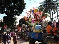 Lord Ganesh bids adieu...till next year.