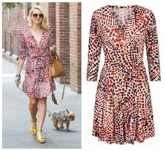 Naomi Watts wearing a  Banana Republic + Issa London collaboration dress   The Perennial Style — Two Preppy. One Daring. One Sister Style Blog.