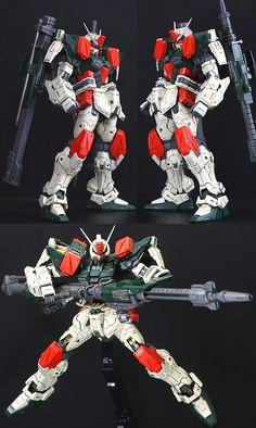 Custom Build: MG 1/100 Buster Gundam - Gundam Kits Collection News and Reviews