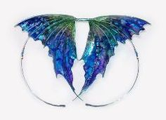 Site to purchase items for Polymer clay creatures - fairy wings Polymer Clay Fairy, Polymer Clay Dragon, Polymer Clay Jewelry, Fairy Wings Costume, Clay Fairies, Butterfly Fairy, Wing Earrings, Doll Tutorial, Fairy Dolls