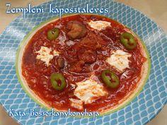 Zempléni káposztaleves (Gluténmentesen is) Soup, Soups