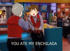 Haha oh Spain<--- never eat my food, por favor~ Or I won't be responsible for whatever happens to you after~ -smiles-