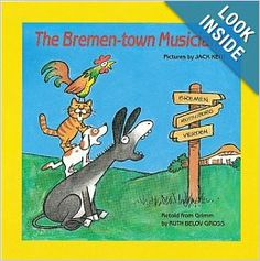 The Bremen-town Musicians (Easy-to-Read Folktales): Ruth Belov Gross, Jack Kent: 9780590423649: Amazon.com: Books