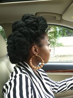 {Grow Lust Worthy Hair FASTER Naturally}        ========================== Go To:   www.HairTriggerr.com ==========================      I Like This Multi Twisted Updo!!