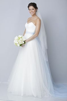 beautiful. not usually one for strapless or ballgowns, but this is beautiful