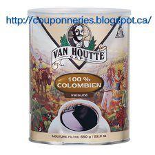 Coupons et Circulaires: 1,99$ VAN HOUTTE 300g