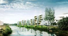 Rendering Houses in Merignac, France - Nicolas Richelet