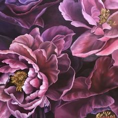 Original Floral Painting by Anna Lyashenko Peony Painting, Flower Painting Canvas, Abstract Canvas, Canvas Art, Painting & Drawing, Canvas Size, Hyperrealism Paintings, Photorealism, A Level Art Sketchbook