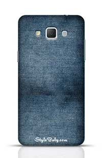 Faded Blue Jeans Samsung Galaxy A5 Phone Case