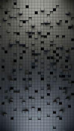 Cube Wall iPhone 6 Wallpaper