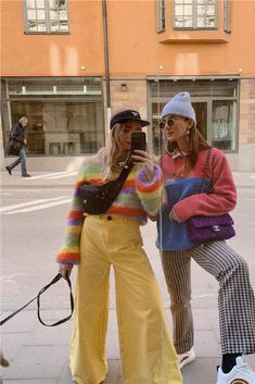Colourful Outfits, Retro Outfits, Trendy Outfits, Cute Outfits, Aesthetic Fashion, Aesthetic Clothes, Facon, Fashion Killa, Look Cool