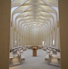 Ripon College Cuddesdon chapel by Niall McLaughlin Architects.