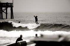 Killing time in Newport with Alex Knost. #SURFER #SURFERPhotos