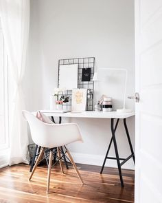 "(@thiswildheart) on Instagram: ""Happy Friday friends! Head over to the blog today to check out the full details of our office space with Canadian Tire where Premier paint in lightest gray makes a big impact! #PaintWithPremier #partner"