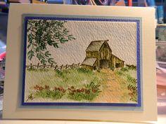 Art Impressions - watercolor card