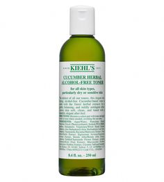 Cucumber Herbal Alcohol Free Toner Kiehls #DailyBeautyTips Toner For Face, Facial Toner, Beauty Routine 30s, Daily Beauty Tips, Beauty Hacks, Cucumber Mask, Cucumber Beauty, Acne Oil, Coconut Oil For Acne