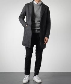 The latest men's fashion including the best basics, classics, stylish eveningwear and casual street style looks. Shop men's clothing for every occasion online Korean Fashion Men, Fashion Mode, Minimal Fashion, Mens Fashion, Fashion Outfits, Fashion News, Stylish Mens Outfits, Casual Outfits, Men Casual