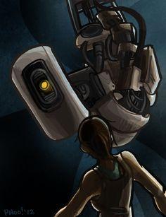 Portal: Staredown by *ph00 on deviantART