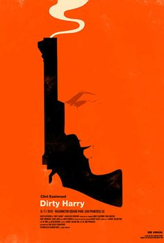 Dirty Harry-One of the greatest filmmakers ever- Clint Eastwood!
