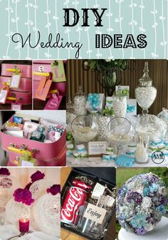 DIY Wedding Ideas! Keep your budget under control with these tips!