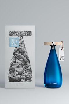 Guo Cui Wu Du Liquor by Lingyun Creative