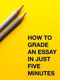 You CAN grade an essay in just five minutes. Codes are the answer.
