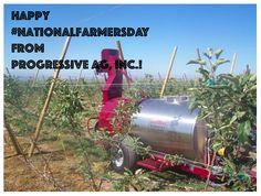 #NationalFarmersDay #ThankAFarmer