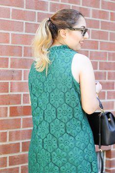 Sweet, Short & Stylish: Emerald Green Dress
