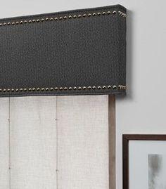 Cornice With Nailheads Interior Design Pinterest