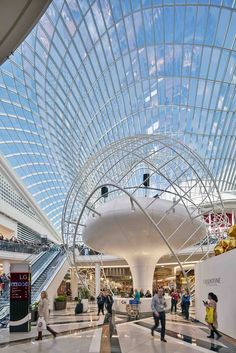 Completed in 2016 in Melbourne, Australia. Images by Seele. The expansion of Chadstone Shopping Centre in Melbourne, Australia, is a seamless celebration of engineering and architecture. Pvc Canopy, Backyard Canopy, Garden Canopy, Fabric Canopy, Canopy Outdoor, Canopy Crib, Window Canopy, Ikea Canopy, Beach Canopy