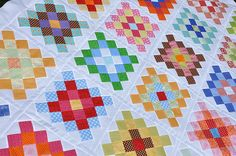 Great Granny Quilt Top! by Pleasant Home, via Flickr
