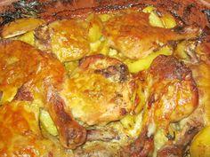 Pulpe cu cascaval coapte in lapte si cu sos de ciuperci Romanian Food, Romanian Recipes, Unique Recipes, Main Meals, Baking Soda, Chicken Recipes, Good Food, Goodies, Food And Drink