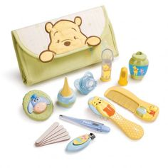 Winnie the Pooh Infant Health and Grooming Kit #DisneyBaby
