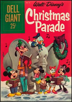 Walt Disney's Dell Giant Christmas Parade Comic Book