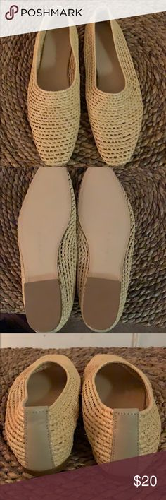 Shop Women's Zara Tan size 10 Flats & Loafers at a discounted price at Poshmark. Loafer Flats, Espadrilles, Loafers, Zara Shoes, Toe, Ballet, Sandals, Best Deals, Closet